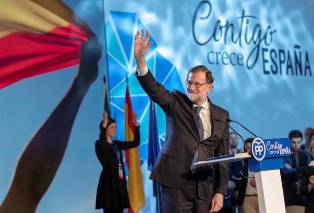 Rajoy, en cierto modo, consiguiócambiar el ánimo de su alicaída militancia