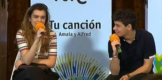 Amaia: A Eurovisión me voy a llevar el libro España de mierda