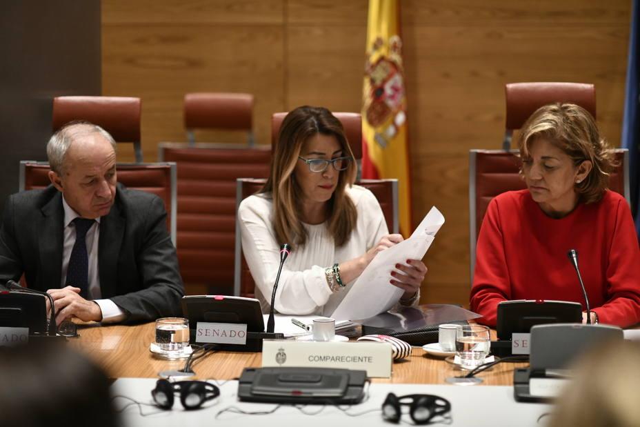 Susana Díaz niega su vinculación con los ERE cuando el PP le acusa de romper papeles cuando se destapó Mercasevilla