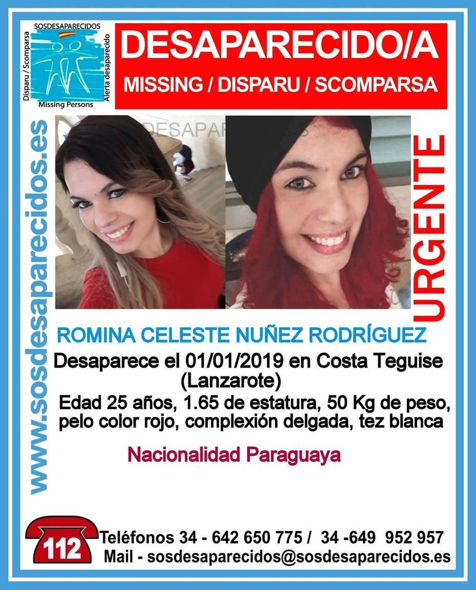 Detienen a un varón en relación a la desaparición de Romina Celeste Núñez