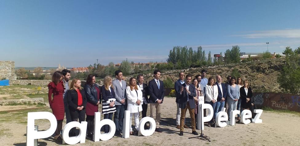Presentación candidatura Pablo Pérez