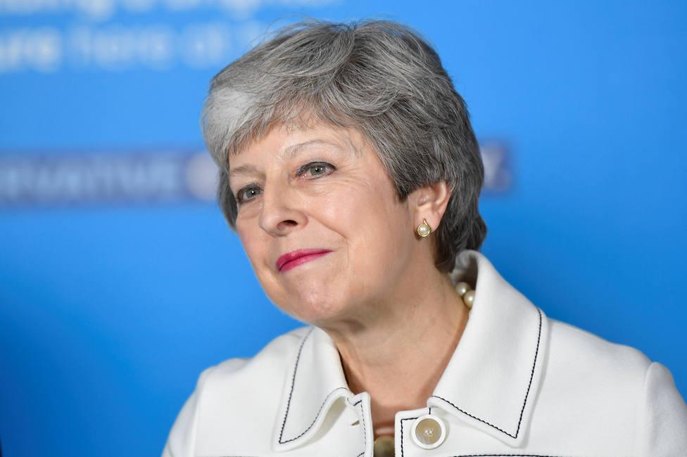 May anuncia que dimitirá como líder conservadora el 7 de junio