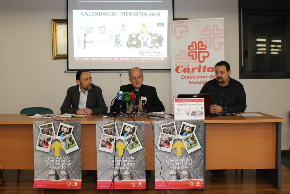 Presentación momeria Cáritas 2018