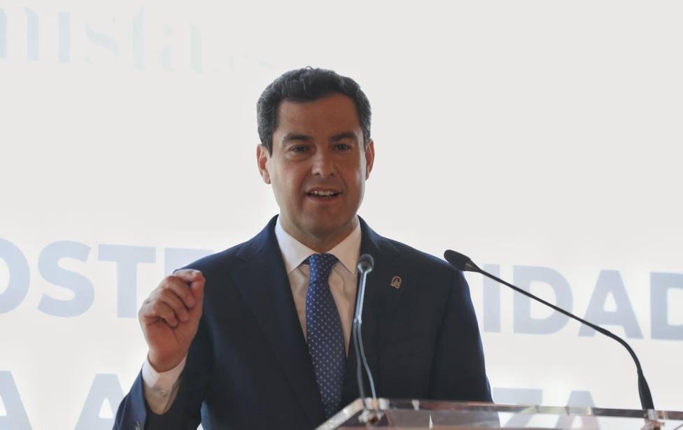 Moreno dice que las negociaciones para los pactos municipales en Andalucía van razonablemente bien