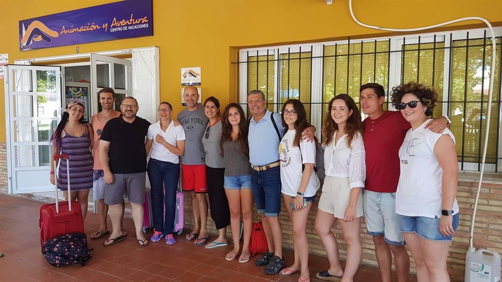 Estudiantes de Enfermería de la UCAM participan en un campamento de la Sociedad de Diabéticos de Cartagena