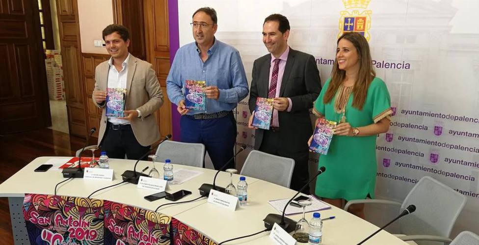 """Laura Lombraña: """"San Antolín ha logrado sacar a la calle a los palentinos y atraer a numerosos visitantes"""""""