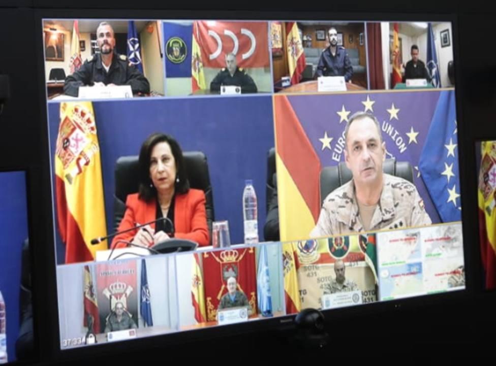 La ministra Robles felicita a las misiones de paz en el exterior: Ésta es nuestra mejor España