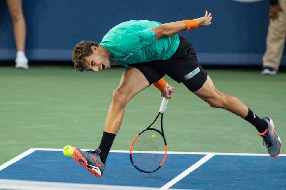 El tenista español Pablo Carreño vence al estadounidense Sam Querrey y accede a semifinales en Estocolmo