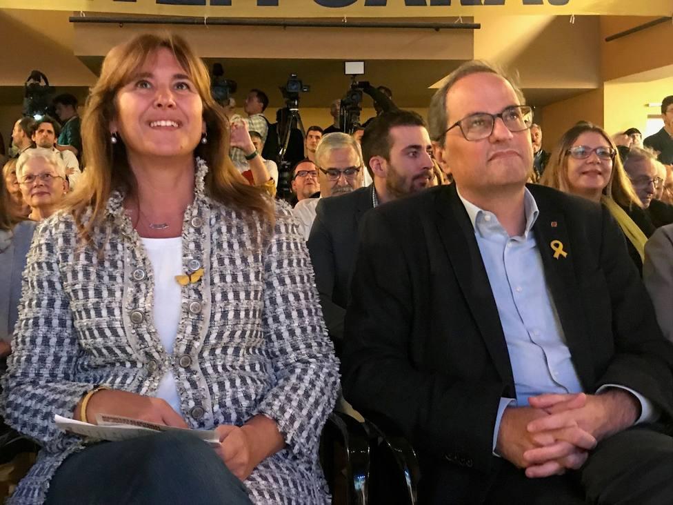 Borrás revela una videoconferencia del huido Puigdemont desde Bruselas con los políticos presos en Lledoners