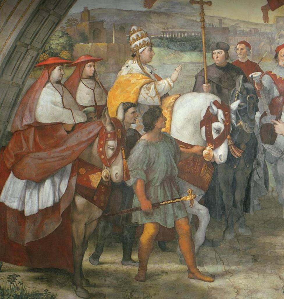 San León Magno: El Papa que impidió que los bárbaros arrasasen Roma