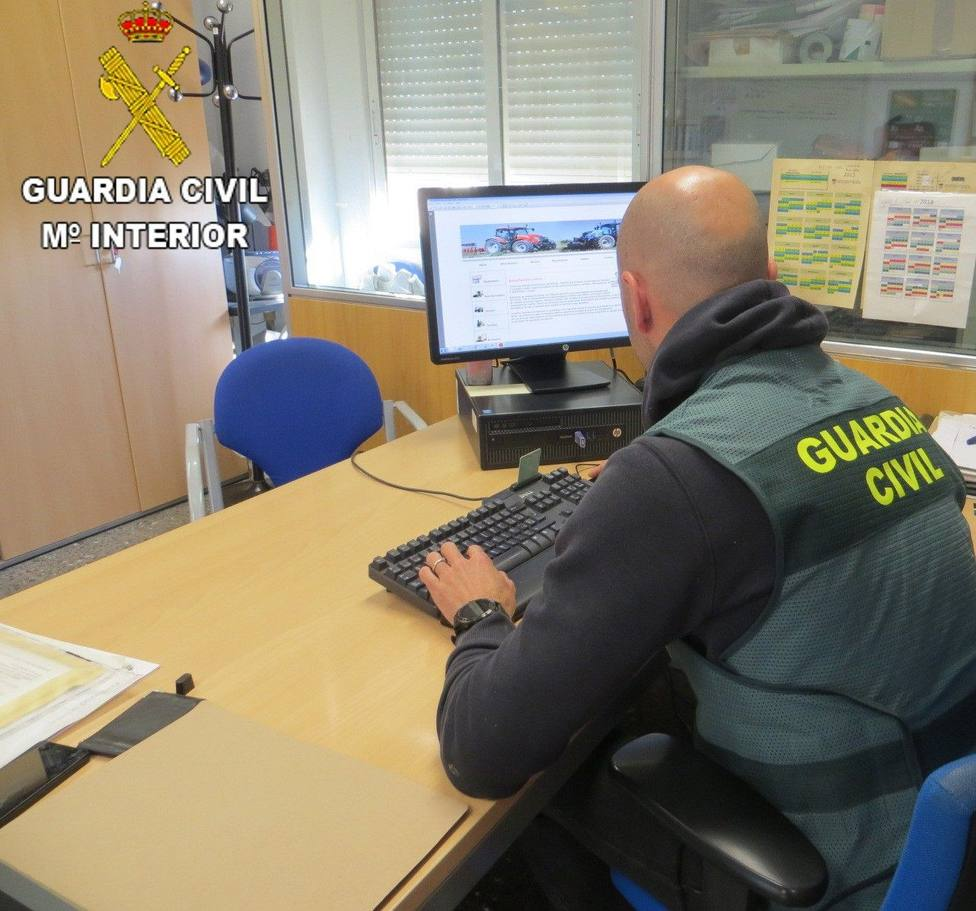 Guardia civil ordenador
