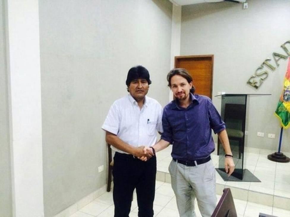 Cs pide que de Iglesias explique en el Congreso los pagos de Evo Morales a una consultora que trabajó con Podemos