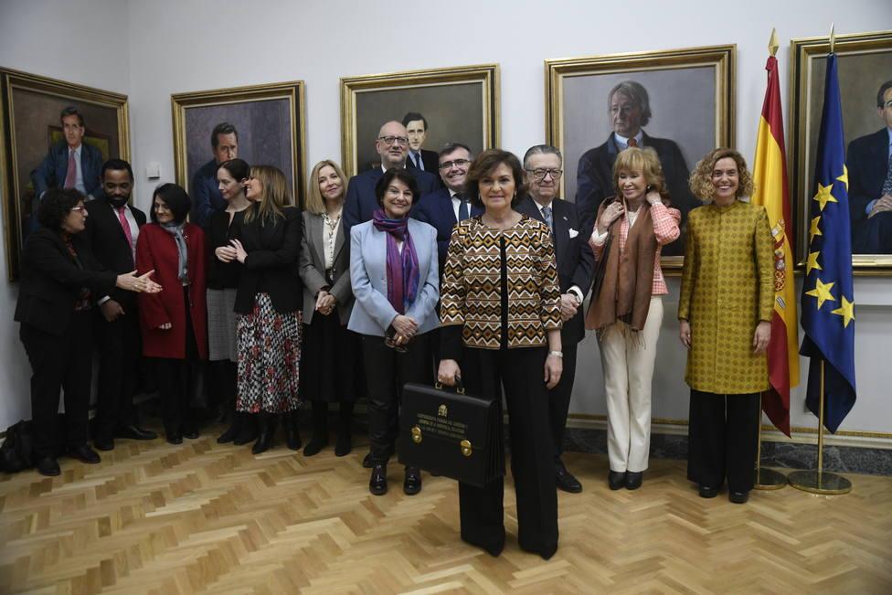 El Gobierno aprueba el nombramiento de María Isabel Valldecabres como jefa de gabinete de Calvo