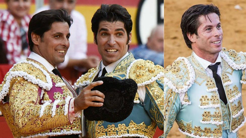 Francisco y Cayetano Rivera Ordóñez y José Antonio Canales Rivera, protagonistas del festival de Zahara