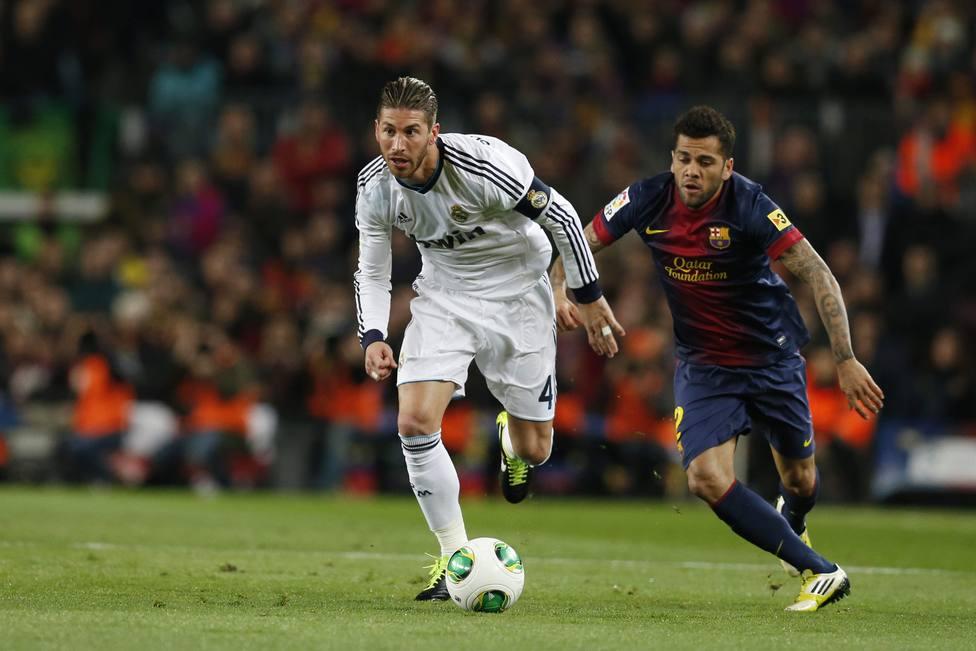 El Real Madrid golea en el Camp Nou y se convierte en el primer finalista de la Copa del Rey