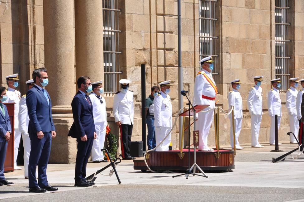 Acto de la Armada con motivo de la Festividad de la Patrona. FOTOS: Armada