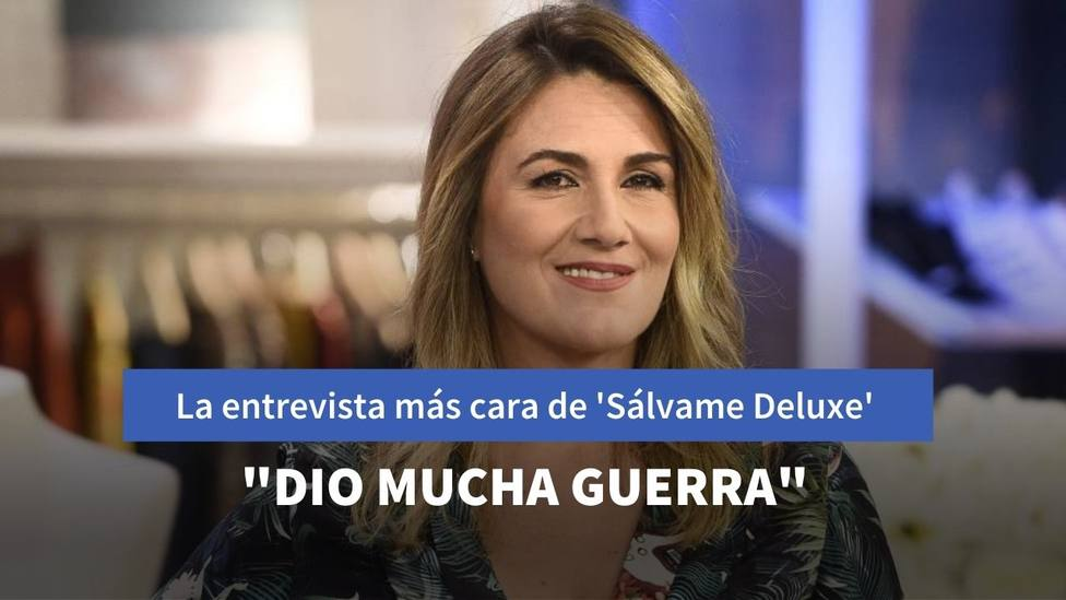 Carlota Corredera pasa factura al famoso que más ha cobrado por una entrevista en Sálvame