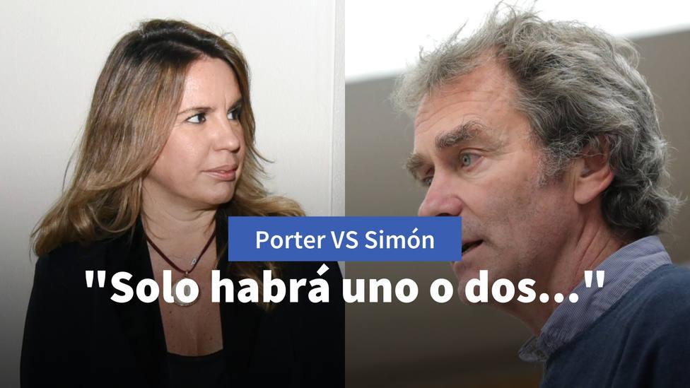 Las declaraciones de Fernando Simón con las que Carmen Porter le recuerda lo que ya dijo