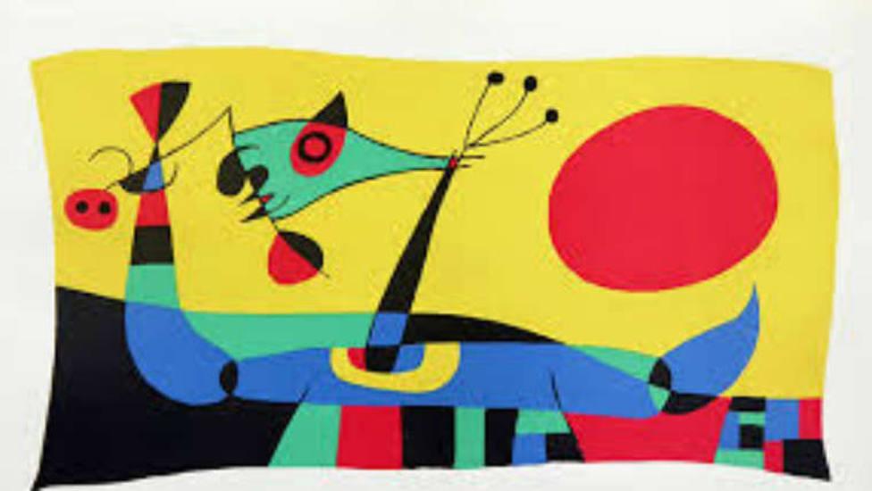 Una obra de Joan Miró