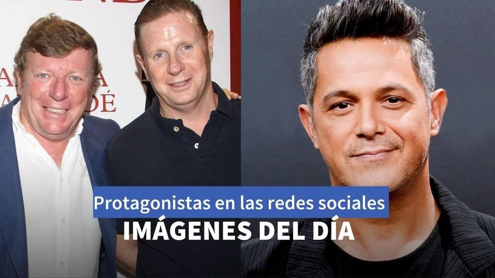 Los Morancos y Alejandro Sanz