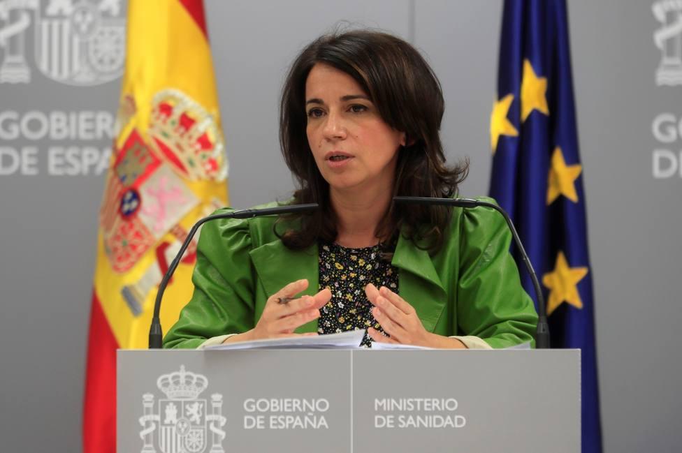 Rueda de prensa de Silvia Calzón