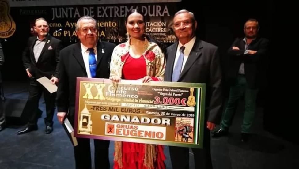 Flamante ganadora Araceli Campillo en la edición del año pasado