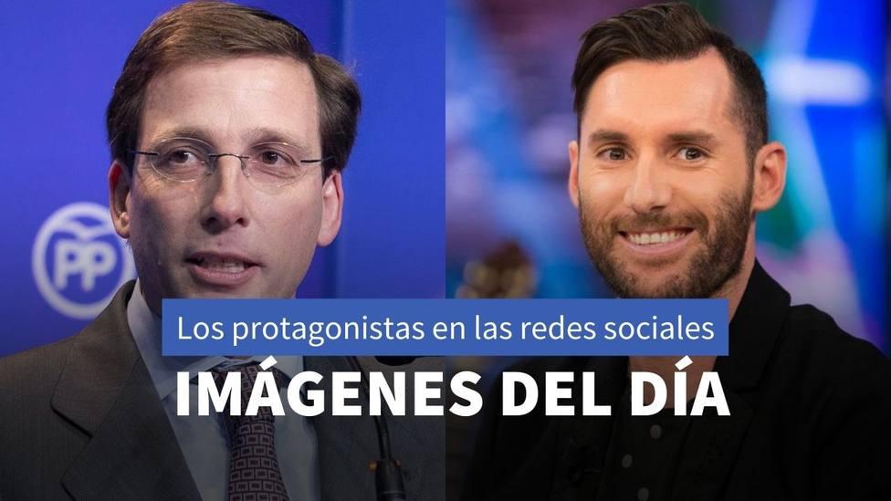 Imágenes del día: El homenaje de Martínez-Almeida a David Gistau y el postre favorito de Rudy Fernández