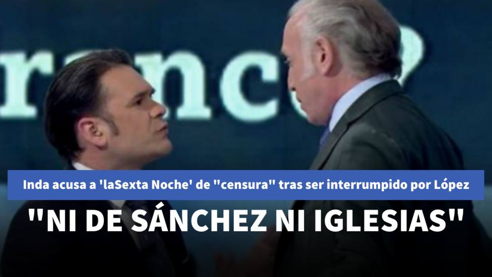 Eduardo Inda e Iñaki López