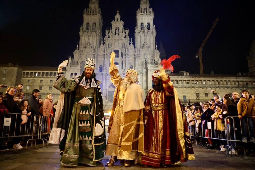 Sin cabalgata en Santiago, pero habrá recepción de los Reyes Magos, que han pasado la PCR