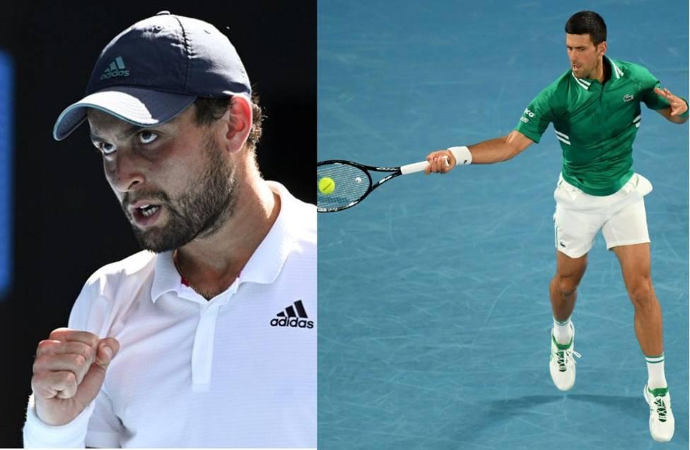Karatsev y Djokovic se verán las caras en semifinales