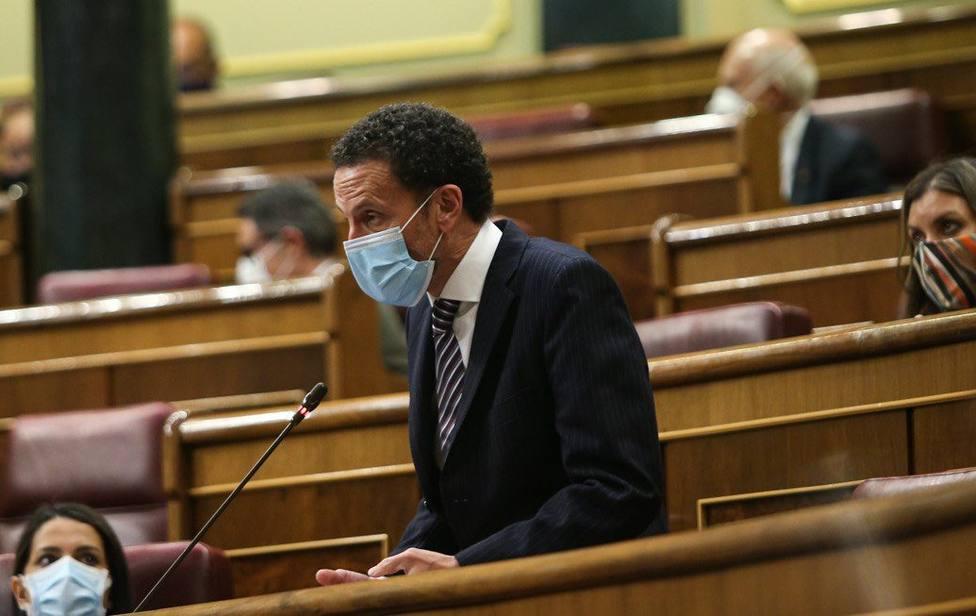 Edmundo Bal, portavoz de Cs en el Congreso y candidato de la formación a la presidencia de Madrid