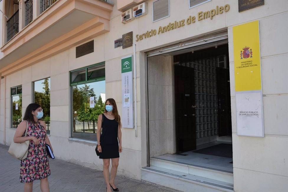 Paro.- AV.- Andalucía cierra 2020 con 191.503 parados más hasta 969.437 tras sumar 2.933 desempleados más en diciembre
