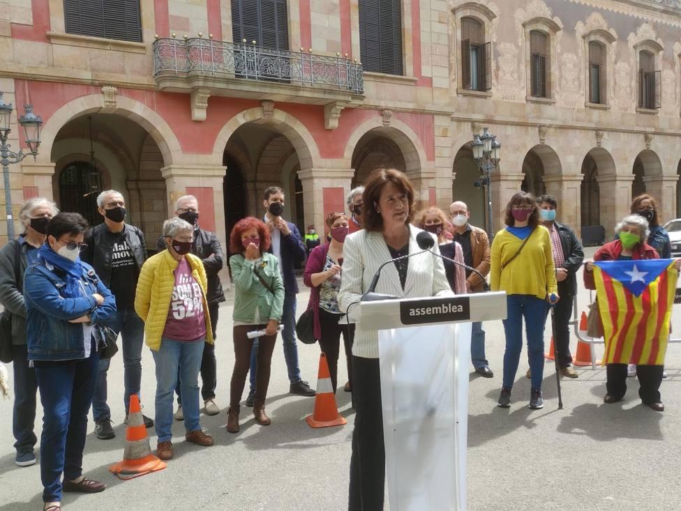 La presidenta de la ANC, Elisenda Paluzie - Europa Press
