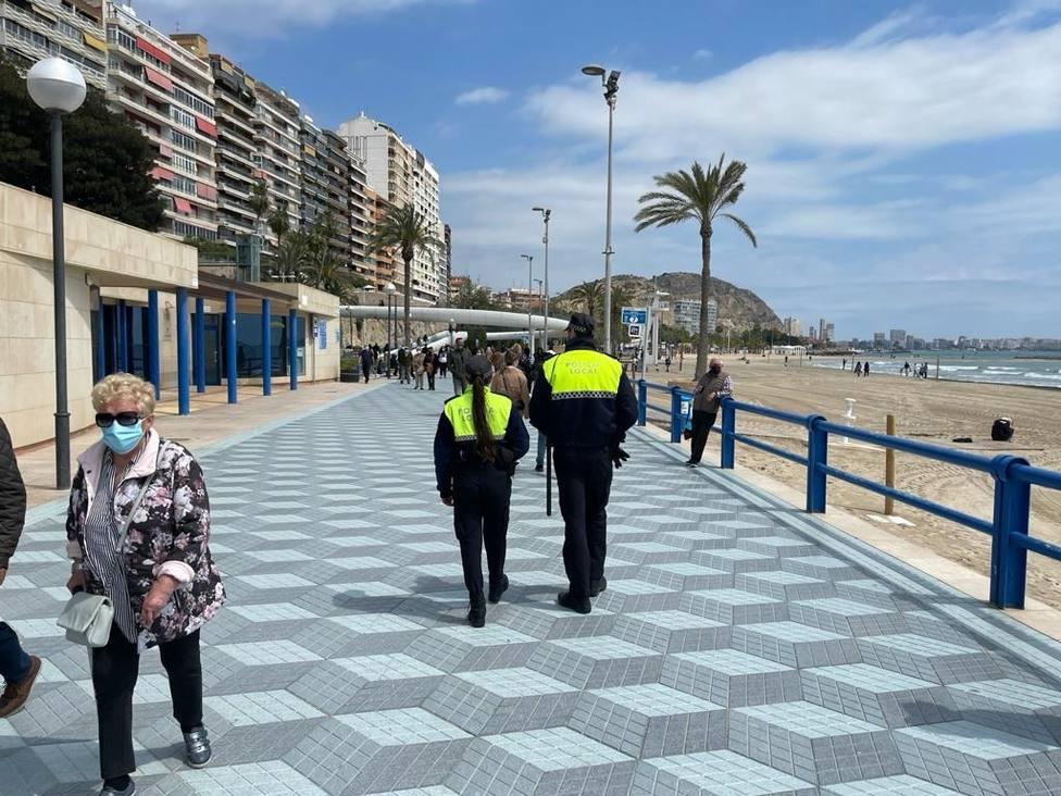 La Generalitat pide a los municipios costeros máxima vigilancia este fin de semana