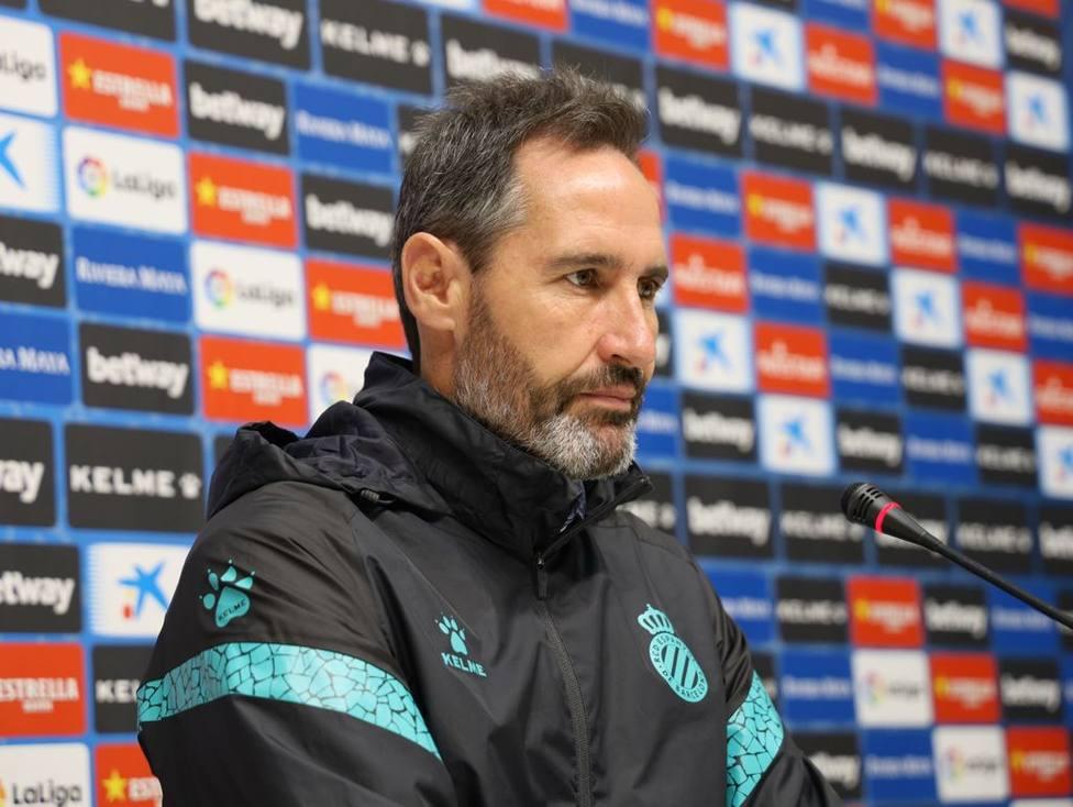 Vicente Moreno: Somos un club exigente y queremos seguir ganando