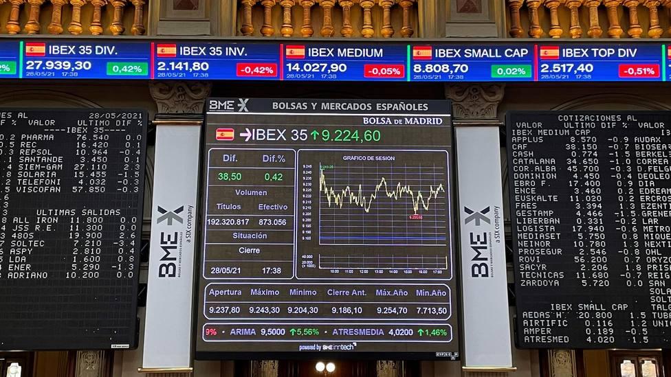 El Ibex 35, el principal índice de la Bolsa española