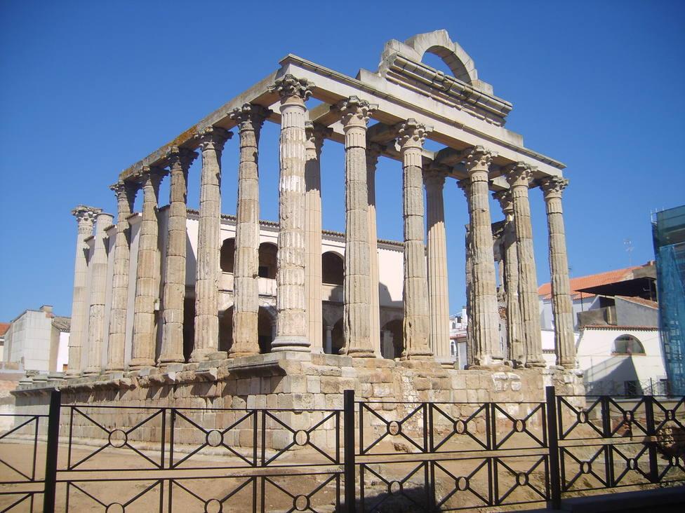 Templo de Diana (Mérida). Turismo de Extremadura