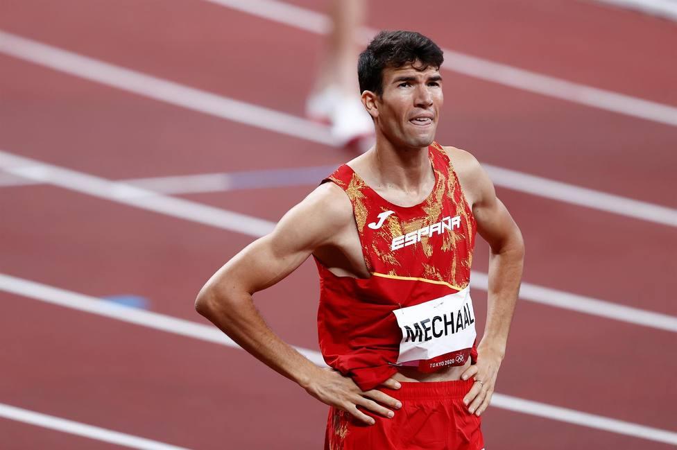 Mechaal y Fontes a la final de 1.500; Asier Martínez, sexto en 110m vallas; Cerca de la medalla en marcha