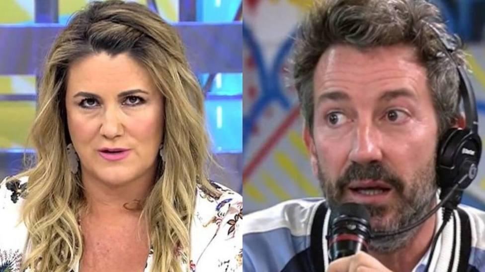 Carlota Corredera y David Valldeperas