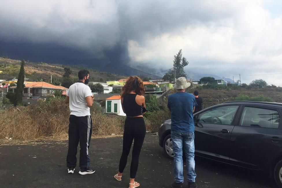 Los vecinos evacuados el viernes podrán volver a sus casas ante la disminución del episodio de explosividad
