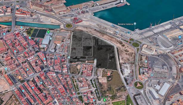 Ubicación de la futura Ciudad Deportiva del Levante