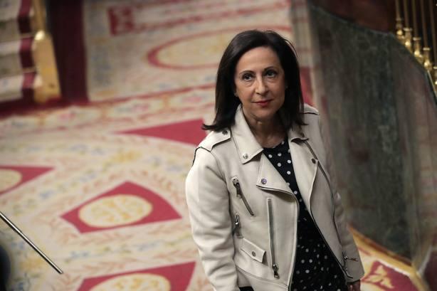 La portavoz del PSOE Margarita Robles,