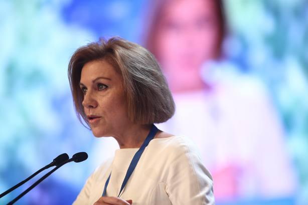 Cospedal no da trascendencia a la difusión de sus conversaciones con Villarejo y alega que ella nunca mintió