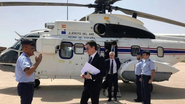 Moncloa vuelve a escudarse en razones de seguridad para negar datos sobre un viaje privado de Pedro Sánchez