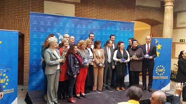 Calvo entrega los premios FEMP contra violencia de género: Que los ayuntamientos sean embajadas de asilo para mujeres