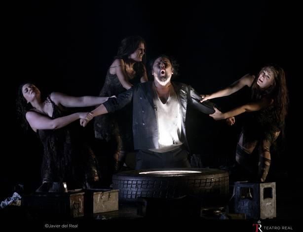El Teatro Real arranca este jueves la tetralogía de Wagner con El oro del Rin, sobre la destrucción de la naturaleza