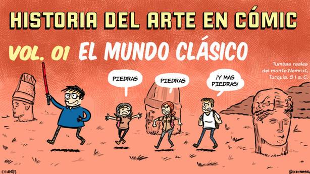Historia del arte en cómic, obra de Pedro Cifuentes