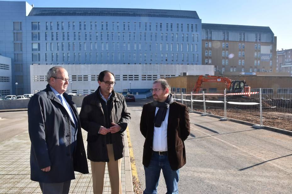 Planificación de la segunda fase de ampliación del hospital Santa Bárbara de Soria
