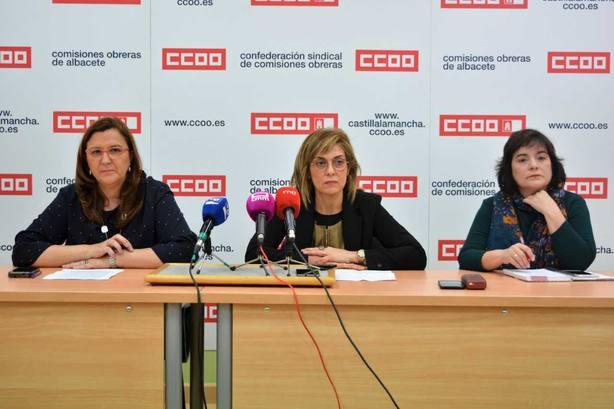 CCOO llama a la participación el 14 de marzo en las elecciones en el SESCAM