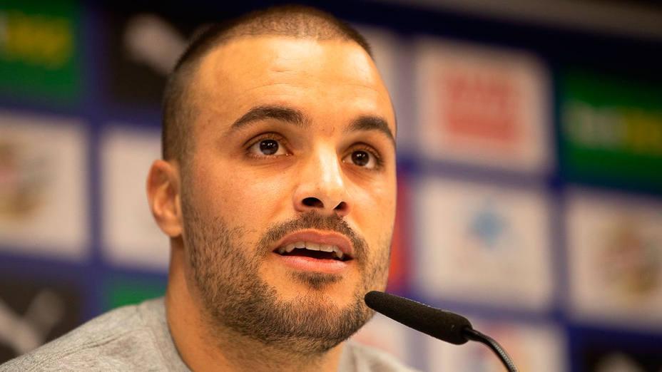 Pedro León, en rueda de prensa (@SDEibar)
